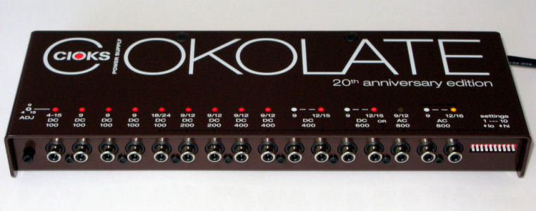 ALL NEW!  CIOKS CIOKOLATE Power Supply IN STOCK!