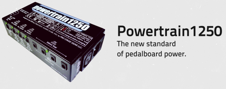 Pedaltrain Powertrain1250 Power Supply IN STOCK!