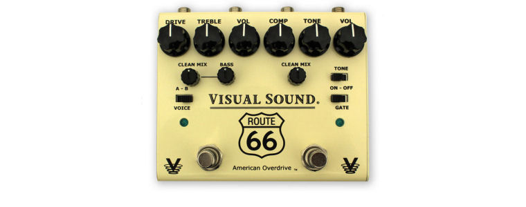 NEW! Visual Sound V3 Route 66 in stock now!