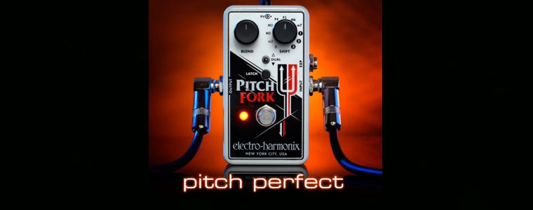 NEW! Electro-Harmonix Pitch Fork in stock now!