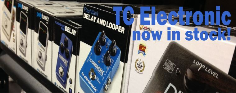 TC Electronic in stock now!