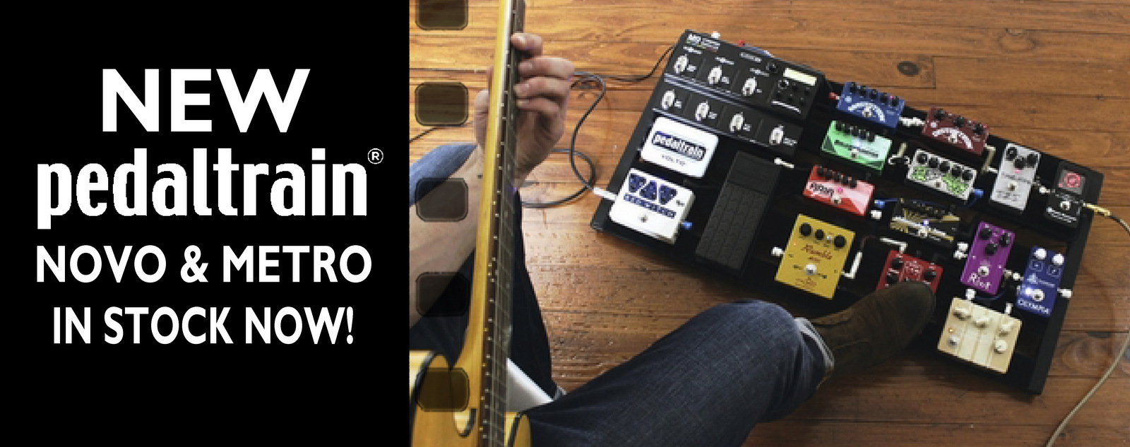 Check out the NEW Pedaltrain models!